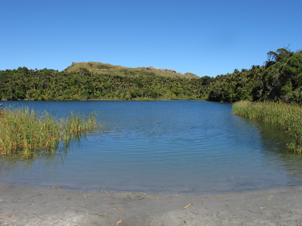 Kaihoka Lakes, great swimming